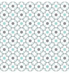 Quatrefoil lattice pattern vector