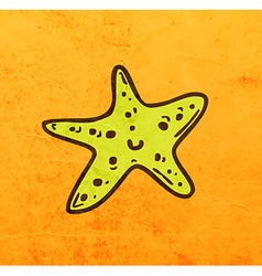 Starfish Cartoon vector image
