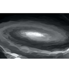 Abstract gray spiral vector