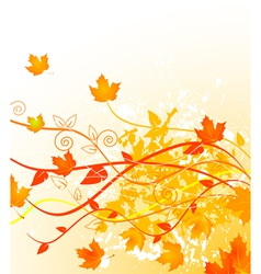 Autumn gold vector