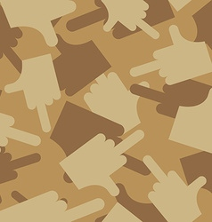Military texture of fuck camouflage army seamless vector