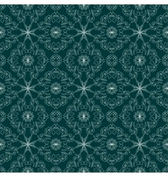 Elegant asian vintage seamless pattern vector