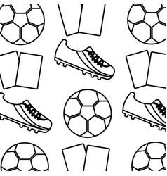 Football soccer pattern image vector
