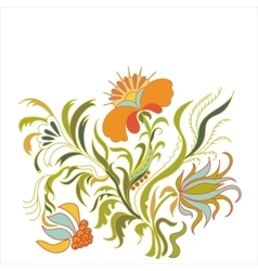 Foral ornament art vector