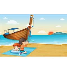 Thailand holiday vector image
