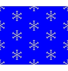 Background of snowflakes Seamless Winter vector image