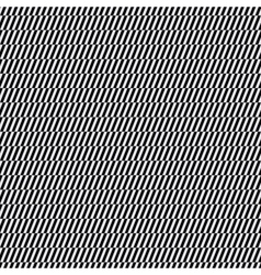 Black and white op art pattern vector