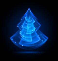 Fraktal NG tree 06 vector image vector image