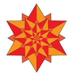 Geometric star vector