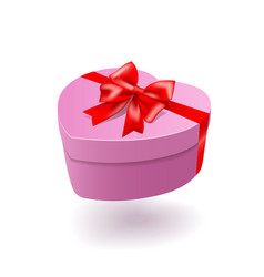 Gift box isolated on white background vector