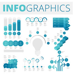Infographics design elements for business vector