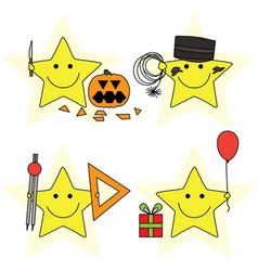 Little stars vector