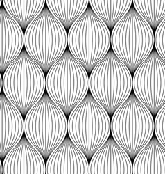 Seamless texture with abstract elements vector