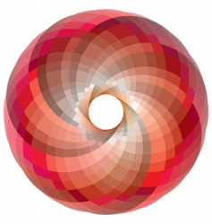 vortex color palette vector image