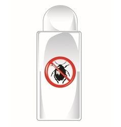 Vial repellent vector