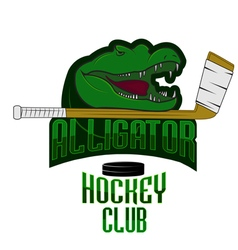 Fully editable professional hockey logo vector