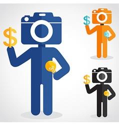Camerahead vector