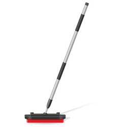 Broom for curling vector