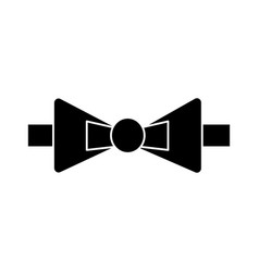 bow tie icon sign o vector image vector image
