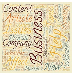 Business articles can help you grow your company vector