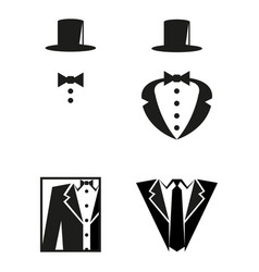 Elegance icons vector