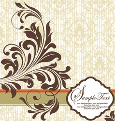 Shower invitation vector