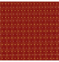 Fabric polka dots vector