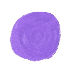 Lilac acrylic paint circle vector