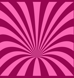 curved ray burst background - vector image vector image