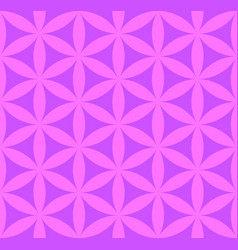 Flower of life seamless pattern vector