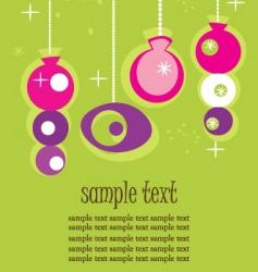 retro ornaments vector image vector image
