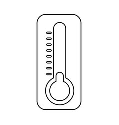 thermometer cold temperature vector image