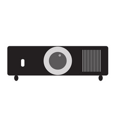 projector icon on white background projector vector image
