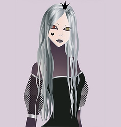 Dark princess vector