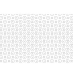Black and white seamless abstract mechanic cell vector