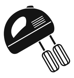 Electric mixer icon simple style vector image vector image