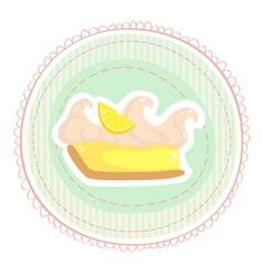 Limone tarte vector