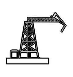 Crane construction icon image vector