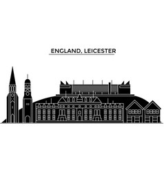 England leicester architecture city vector