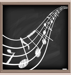 music poster template vector image