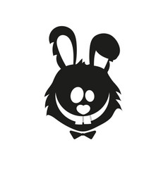 Rabbit logo icon vector