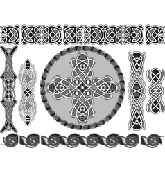 Traditional celtic style vector