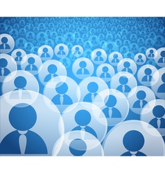User Community vector image