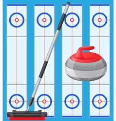 Curling 01 vector