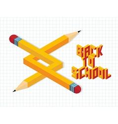 Back to school creative vector
