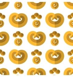 Bakery seamless pattern vector