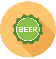 Beer sign vector