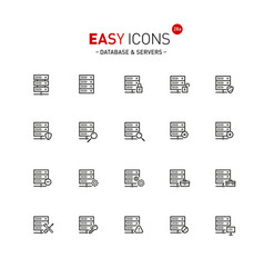 Easy icons 28a database vector