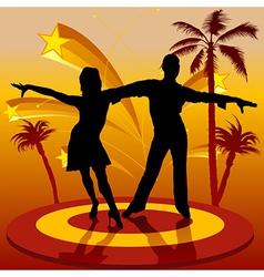 Spain Dancers vector image