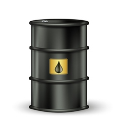 petrol barrel vector image